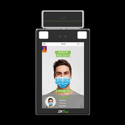 中控TDB08-TI热成像人脸测温智能识别终端